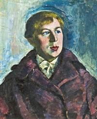 szőke fiú portréja by jozsa jaritz