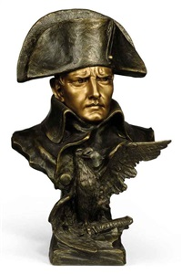 bust of napoleon by r. aurili