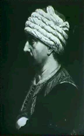 portrait dhomme au turban by pierre frederic peyson