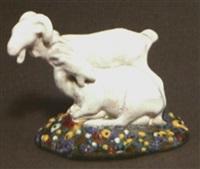 paar ziegen by gmundner keramik