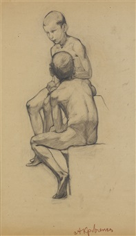 two boys by aleksei ilych kravchenko