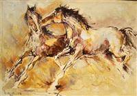caballos by bartolomé vacarezza