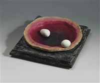untitled (eggshell) by urs fischer