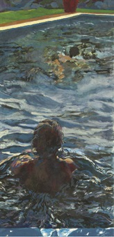 mo and me swimming by henry korda