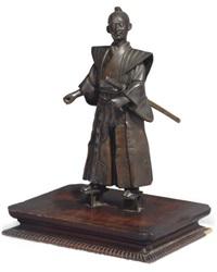 figure of a samurai by yoshimitsu