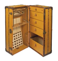 wardrobe trunk by louis vuitton