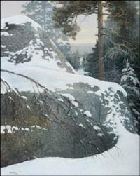 lumisia kallioita (snöiga klippor) by reijo meller