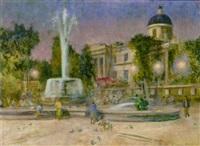 trafalgar square by alan stenhouse gourley