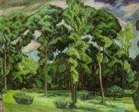 landscape, mobile, alabama by conrad alfred albrizio