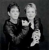 lou reed-laurie anderson by timothy greenfield-sanders