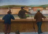 pescatori dalla spalletta by roberto masi