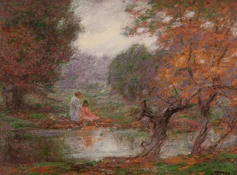 october days by edward henry potthast