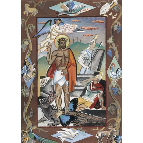 résurrection by gino severini