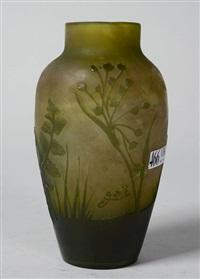 petit vase de style art nouveau by émile gallé