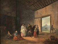 la visite du prêtre by marc antoine bilcoq