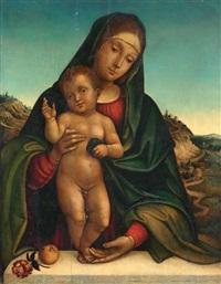 madonna col bambino by giacomo raibolini