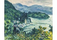 ashinoko in early summer by kenkichi kodera
