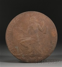 medallion for the milwaukee art institute by albert henry atkins