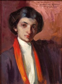 portrait of adele gratiot by charles hovey pepper