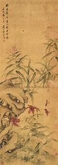 工笔花卉 by fang xun