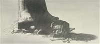 study for arrest by mark tansey
