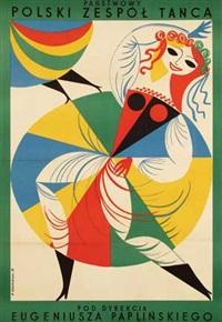 nat. polish dance group by jerzy srokowski