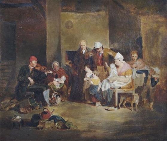 the blind fiddler by john lewis krimmel