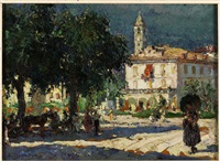piazza a baveno by lidio ajmone
