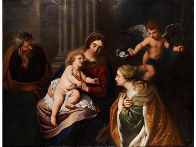 die verlobung der heiligen katharina by theodor van thulden
