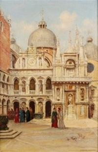 plaza de venecia by arthur trevor haddon