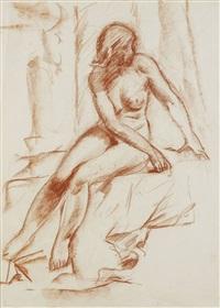 female nude by aleksei ilych kravchenko