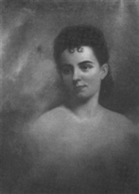portrait of a woman by ida waugh