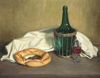 bodegón del pan y el vino by ana maria albero