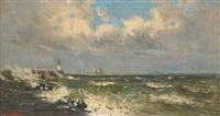 mer agitée by frans van damme