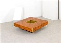 grande tavolo basso by willy rizzo