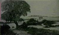 hugelige landschaft by adolf reile
