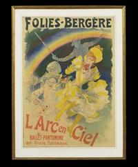 folies-bergere, l'arc en ciel, ballet-pantomime en trois tableaux by jules chéret