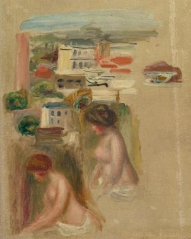 études de paysages et nus by pierre auguste renoir