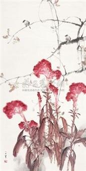 鸡冠花 by liu wensheng