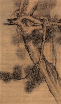 pine tree by wu qi