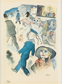 passanten by george grosz