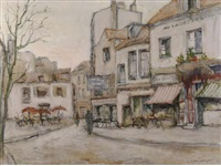 a square in paris by jan den hengst