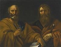 saints peter and paul by italian school-roman (17)