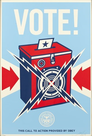 vote by shepard fairey