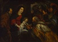 anbetung der könige by flemish school (18)