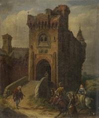 castelli e personaggi by niccolo (nicola) sanesi