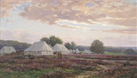 army camp in the new forest by frederick golden short