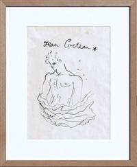 jeune homme torse nu by jean cocteau