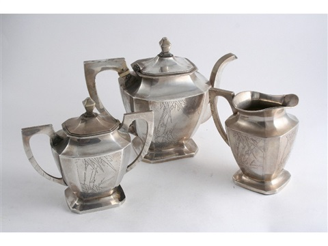 tea set set of 3 by luang seng