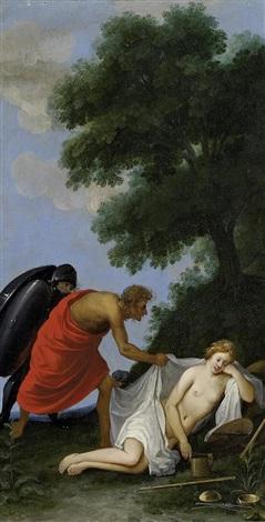 mars und die schlafende justitia by johann hans konig